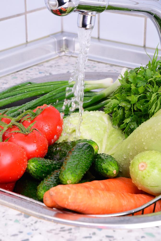 Fruit & veg needs washing